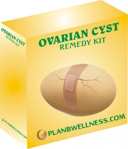 ovarian cysts remedy kit