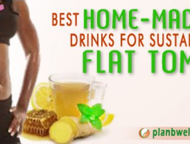 HOME-MADE DRINK FOR SUSTAINABLE FLAT TUMMY