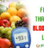 EXPOSED: FRUITS THAT RAISE BLOOD SUGAR