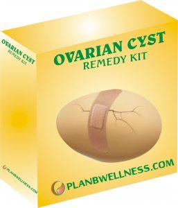 ovarian cysts remedy kit