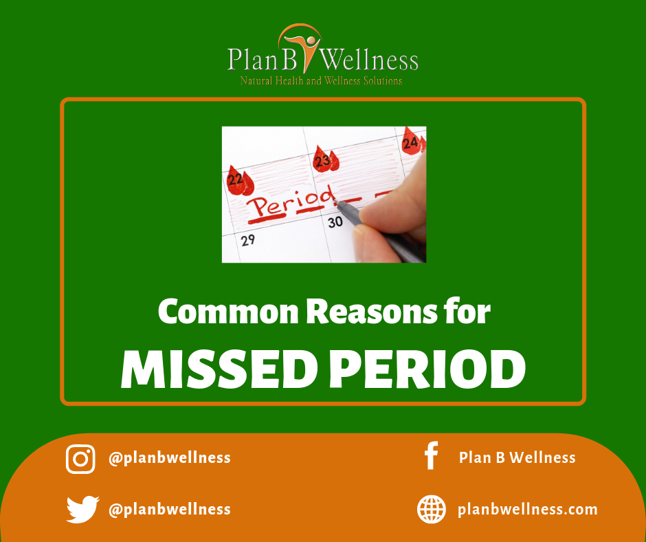 MENSTRUAL CYCLE: MOST COMMON REASONS FOR MISSED PERIOD