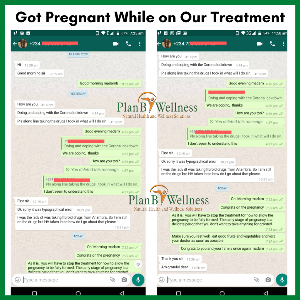 Got Pregnant While on Our Treatment