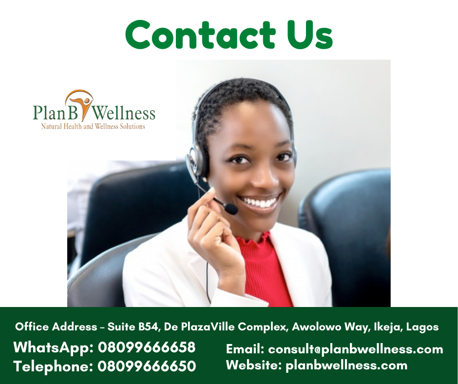 Contact Plan B Wellness Nigeria Limited
