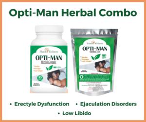 Opti-Man Herbal Combo Plan B Wellness
